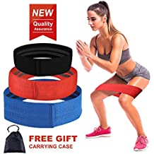 Hagness - Bandas de resistencia para ejercicios de cadera, bandas de resistencia para entrenamiento, cintas de botón, correa de resistencia, ...