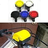 LHGS Alarmanlage für elektronisches Fahrrad, lauter Alarm, batteriebetrieben, 2 Stück