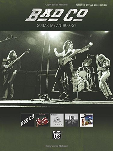Bad Company: Guitar Tab Anthology (Authentic Guitar Tab Edition) (Alfred Publishing Company)