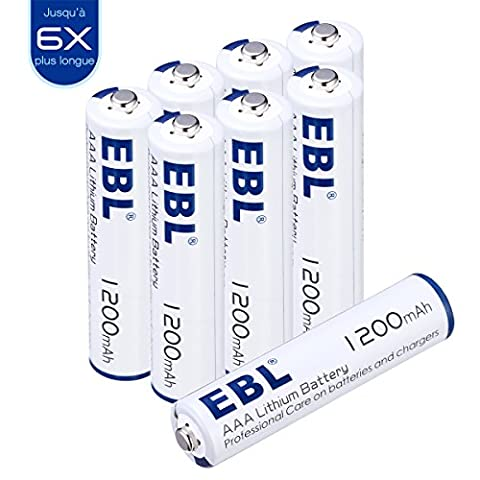 Piles Lithium Aaa - EBL Pile Lithium Type AAA Non Rechargeable
