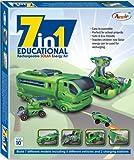 Annie 7 - in - 1 Educational Rechareable Solar E Kit, Multi Color