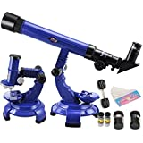 Aditya Info™ 2 in 1 Science Set - Telescope and Miicroscope