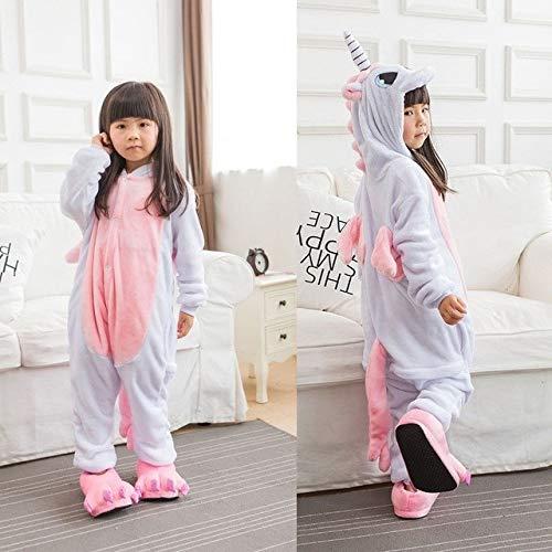 Pijama Unicornio Niños Invierno Mono Unicornio Pijamas