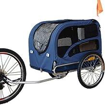 DOGGYHUT Remolque EXTRA GRANDE para perros Remolque de Bicicletas 60302-02