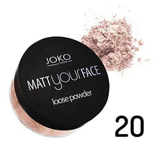 Poudre libre fini mat - 20 Porcelaine - Joko