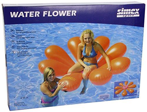 Simex Sport Badeinsel Water Flower, orange, 48780… | 04001690487801