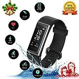 KUNGIX Fitness Tracker Orologio, Smartwatch Uomo Donna Cardiofrequenzimetro da, Polso Pressione...