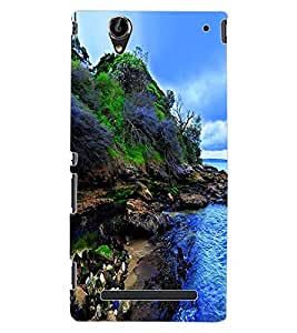 ColourCraft Nature Design Back Case Cover for SONY XPERIA T2 ULTRA