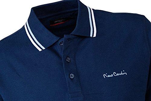 Pierre Cardin Mens neue Saison fit Classic Polo Gespitzt Marine