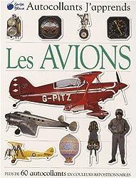 Avions (Autocollants J'Apprends)