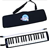 #3: Swan 37 Key Melodica with Case - Black