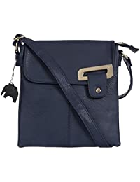 9ebf2c73b830 Big Handbag Shop Womens Medium Trendy Messenger Cross Body Shoulder Bag