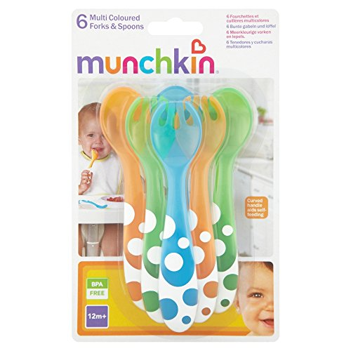 munchkin-forks-and-spoons-multi-coloured-pack-of-6