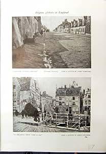 Bateau Antique de Rue de Gand Albert Baertsoen Nieuport de Quais de l'Impression 1913