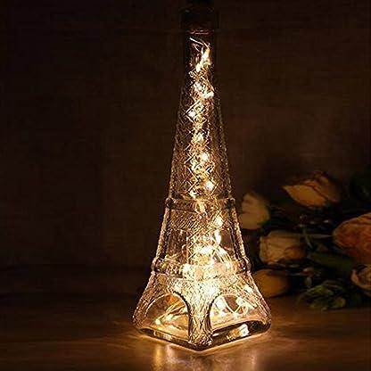 Weihnachtsbeleuchtung-Solar-Wine-Bottle-Korkfrmige-Lichterkette-10-LED-Night-Fairy-Light-Lamp-Xmas