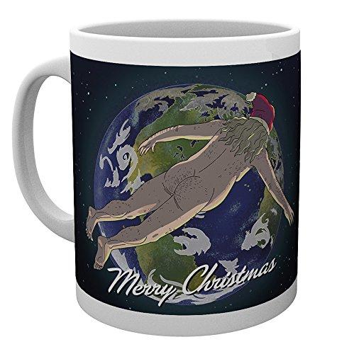 GB Eye LTD, Rick y Morty, Feliz Navidad, Taza