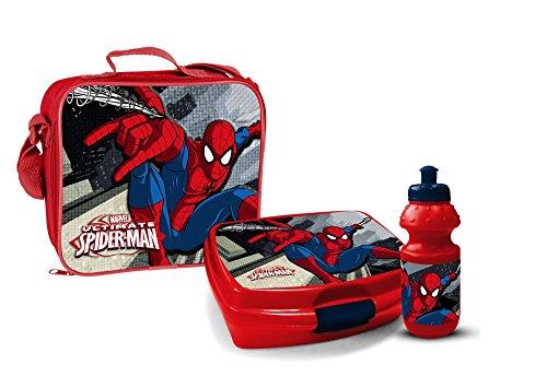 Star Licensing Set Lunchbox, Kunststoff, Polyester, PVC, Mehrfarbig, 3Einheiten (Kunststoff Aus Lunch-box)