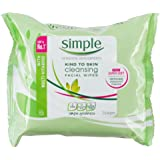 Simple Kind To Skin Cleansing Facial Wipes 25 Pieces