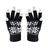 HOTER® Weihnachten Lover Snowprint Keep Warm Iphone Touch Screen Handschuhe