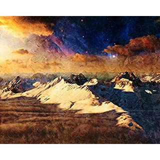 ADVLOOK Digital Oil Painting By Numbers For Adults Beginners Asgard Realm Of The Gods Adults Beginner Hand Painted Acrylic Paint On Canvas Diy Art Great Educational Gift Frameless 40X50 Cm