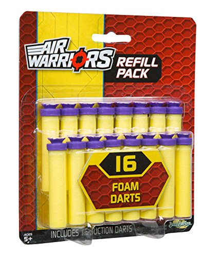 Buzz Bee Toys Air Warriors 16 Suction Dart Refill by Buzz Bee (Bee Darts)