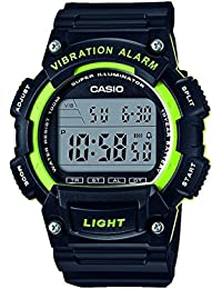 Casio Collection – Herren-Armbanduhr mit Digital-Display und Resin-Armband – W-736H-3AVEF