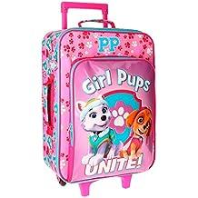 Paw Patrol Girls Pups Equipaje Infantil, 50 cm, 26 Litros, Rosa