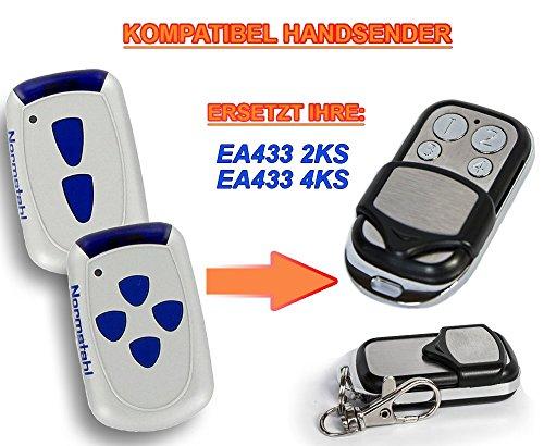 Normstahl EA433 2KS, Normstahl EA433 4KS kompatibel handsender, 4-kanal ersatz sender, 433.92Mhz rolling code. Top Qualität ersatzgerät!!!