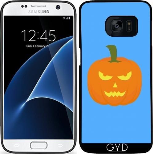 Custodia in silicone per Samsung Galaxy S7 (SM-G930) - Luce Malvagità Halloween by ilovecotton