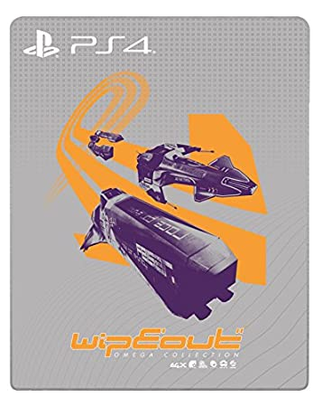 WipEout: Omega Collection Steelbook (PS4) [no game included]