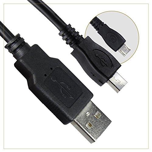 Hapurs PS 4 Controller Ladekabel Kabel USB A Stecker auf männlich Micro-B für PlayStation 4 Dual Shock 4 Wireless Gamepad Xbox One unterstützt Power und Gebühren bei Super Speeds
