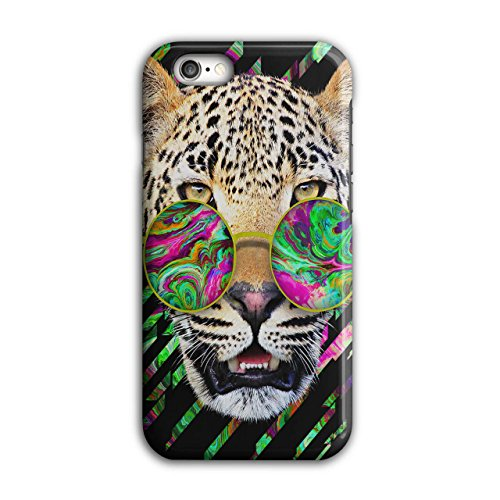 Cool Leopard Rille Psychedelisch iPhone 6 / 6S Hülle | Wellcoda