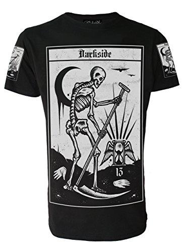 Herz Tie-dye-t-shirt (TOD TAROT Herren T-Shirt)