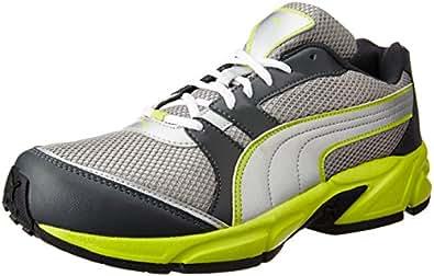 Puma Men's Strike Fashion II Dp Dark Shadow and Sulphur Running Shoes - 10 UK/India (44.5 EU)
