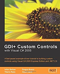 GDI+ Application Custom Controls with Visual C# 2005: A fast-paced example-driven tutorial to building custom controls using Visual C# 2005 Express Edition and .NET 2.0 by Iulian Serban (2006-07-10)