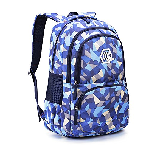 Rentree Scolaire Backpack Sac à Dos Enfant Scolaire Cartable à Dos Fille Garcon Sac Ecole Loisir Voyage Cartable Maternelle 48 * 33 * 24cm