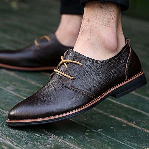 ZXCV Scarpe all'aperto Scarpe da uomo scarpe da uomo traspiranti all'aperto Marrone scuro