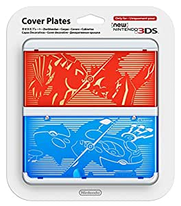 Cover plate No.040 (Pokemon) New 3ds
