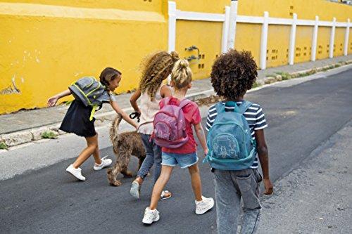 Lässig Mini Backpack About Friends mélange Grey Sac à Dos Enfants, 27 cm, Gris (Grey)