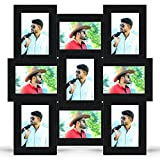 #8: MY MAGIC GIFT SET OF 9 PICS COLLAGE PHOTO FRAMES (BLACK)