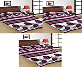 Double Bed Coral Blanket (Pack of 3)