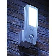 Auraglow Lampe LED Murale de Sécurité 16w Activé par Détecteur de Mouvements PIR - 120w EQV