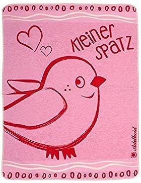 Kleiner Spatz Kuscheltuch, Farbe:rosa;Größe:ohne Größe