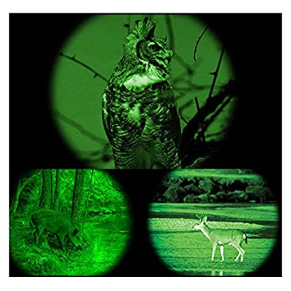 LHYP 5X40mm Infrared HD Digital Night Vision Monocular,Hunting And Observing Wildlife Security Surveillance