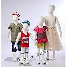 eurohan pantalla r34684x infantil muñecas flexible biegbare Cuerpo Maniquí femenino Kids Maniquí
