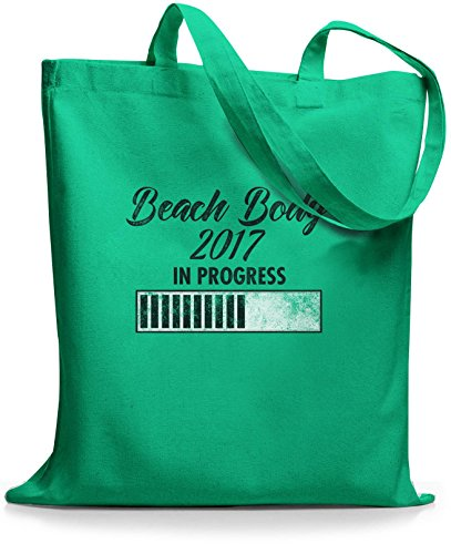 StyloBags Jutebeutel / Tasche Beach Body 2017 Mint