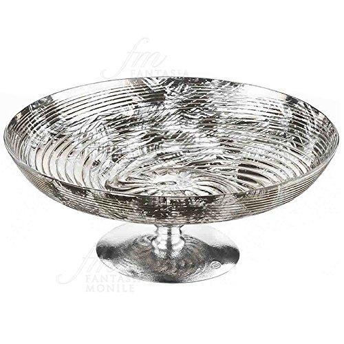 Mittelpunkt Tisch Etagere Acca Glas versilbert Geschenk Hochzeit Hochzeit AR 849EG