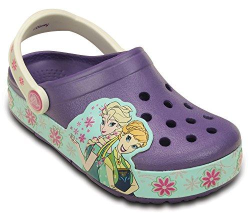 Bild von crocs Mädchen CrocsLights Frozen Fever Kids Clogs