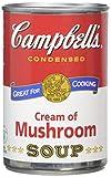 Campbells Condensed Cream of Mushroom Soup (Pack of 6)