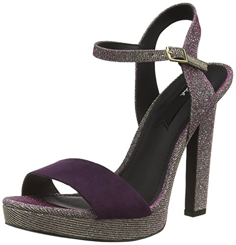 Blink - Bkeelal, Scarpe col tacco Donna Multicolore (Mehrfarbig (pewter/gold/purple / 1421))